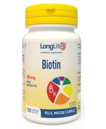 Longlife Biotin 100cpr