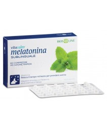 Vitacalm Melatonina 60cpr Subl
